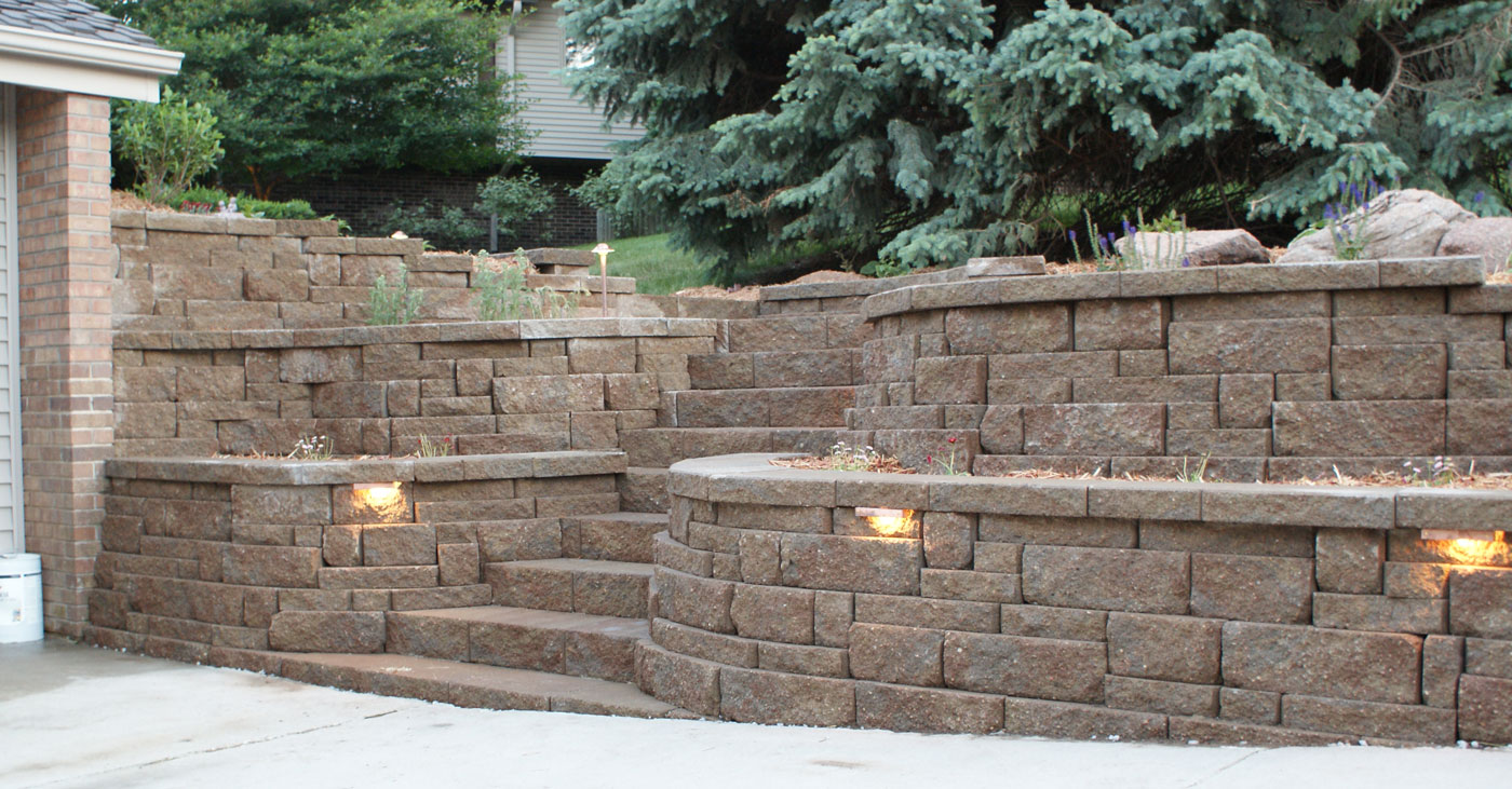 Retaining Wall Contractors : Eugene retaining wall construction contractor